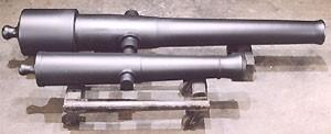 Full scale M. 1861 Parrott - 3/4 scale M. 1841 6-pounder