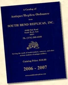 South Bend Replicas - Antique/Replica Ordnance Catalog